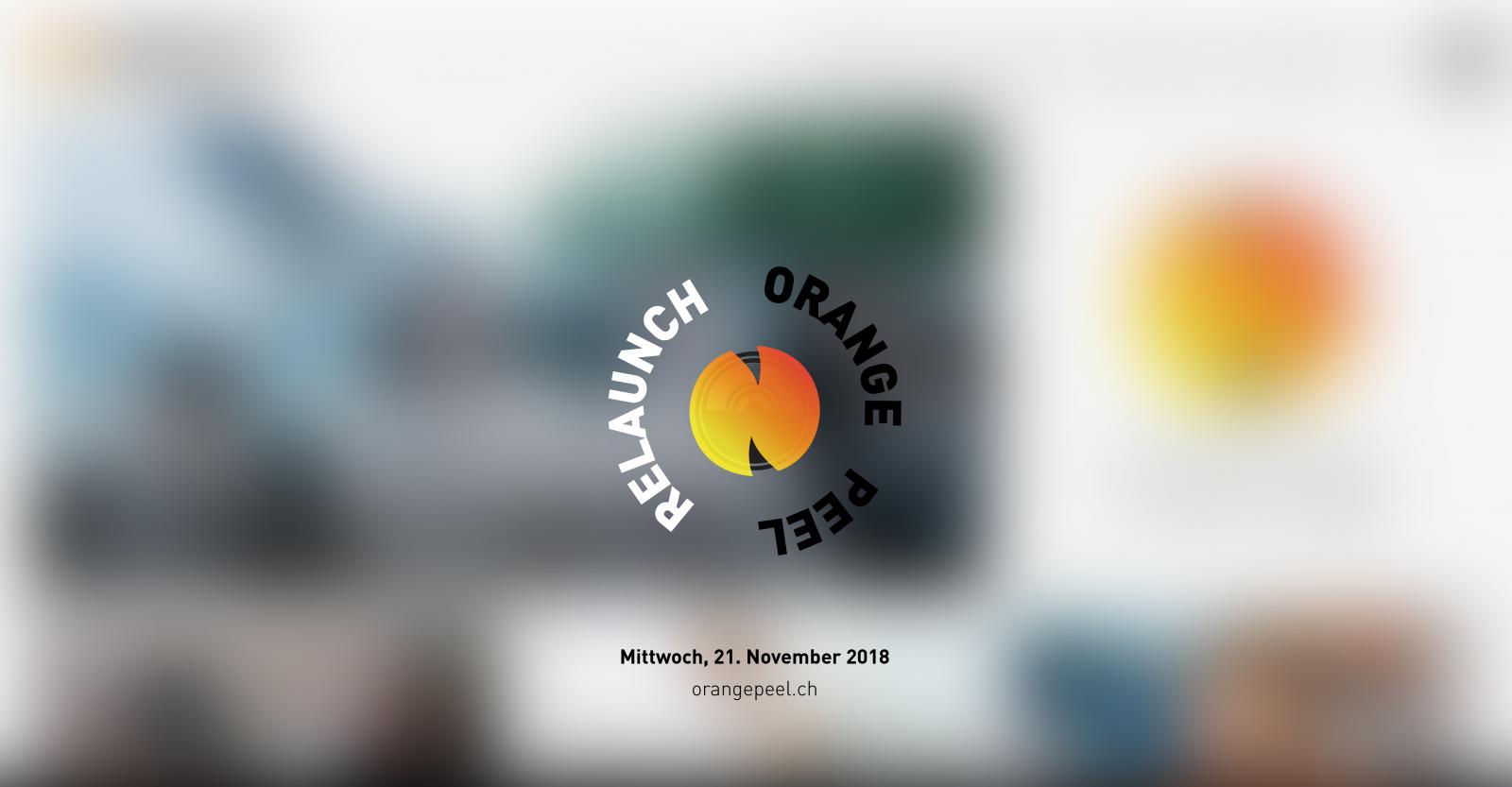 Cover von Orange Peel in neuem Gewand